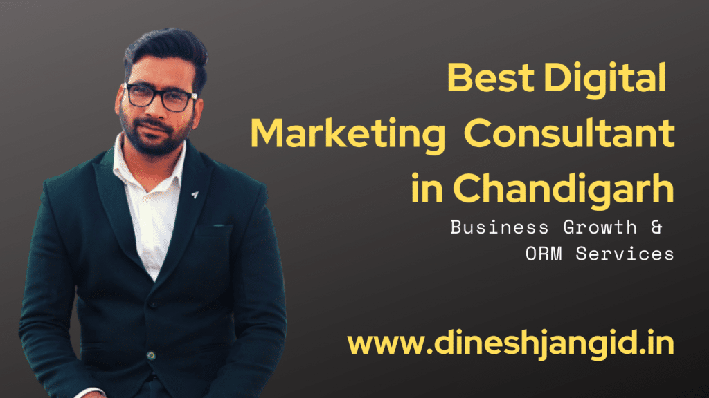 Digital Marketing Consultant in Chandigarh
