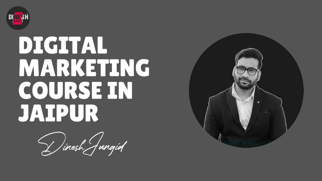 Digital Marketing Consultant in Jaipur